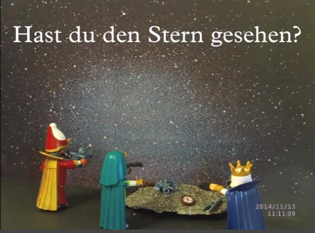 Weihnachtsgeschichte als Playmobil-Stop-Motion-Film